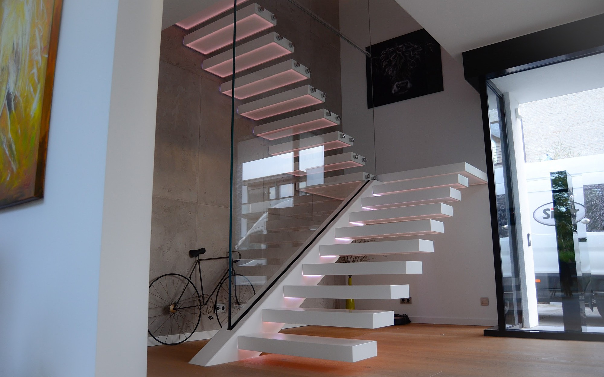 Scale E Ringhiere Per Interni scale di design esclusivi, scale in vetro, scale interne